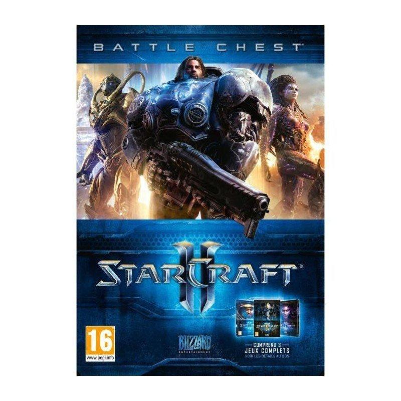 Image of   Starcraft Ii (2): Battlechest - PC