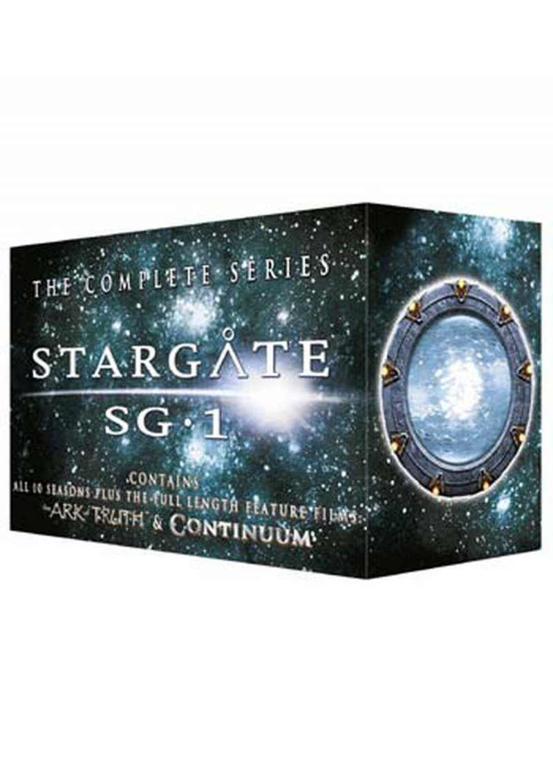 Image of   Stargate Sg:1 - Sæson 1-10 + 2 Film - DVD - Tv-serie