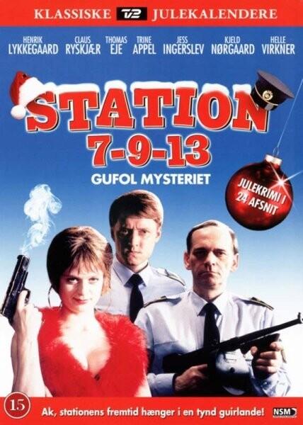 Station 7-9-13 - Tv2 Julekalender 1997 - DVD - Tv-serie