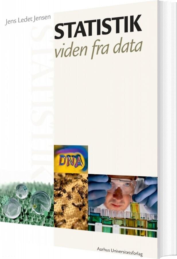Image of   Statistik - Jens Ledet Jensen - Bog