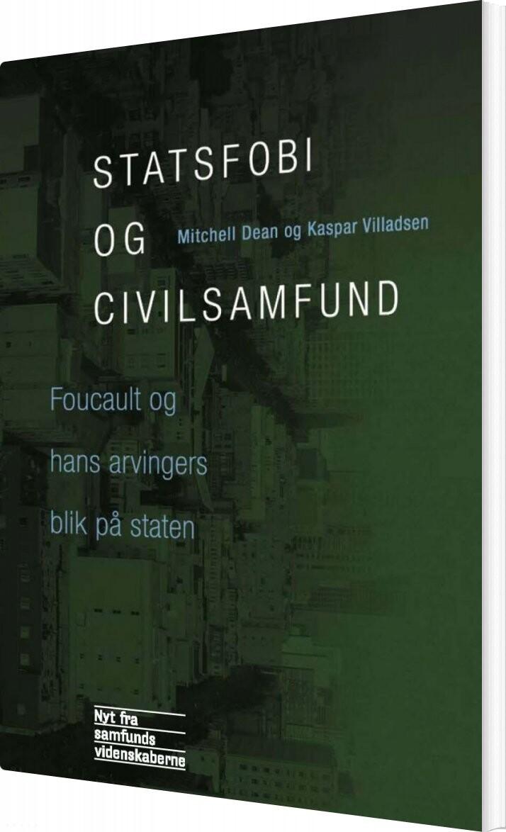 Billede af Statsfobi Og Civilsamfund - Mitchell Dean - Bog