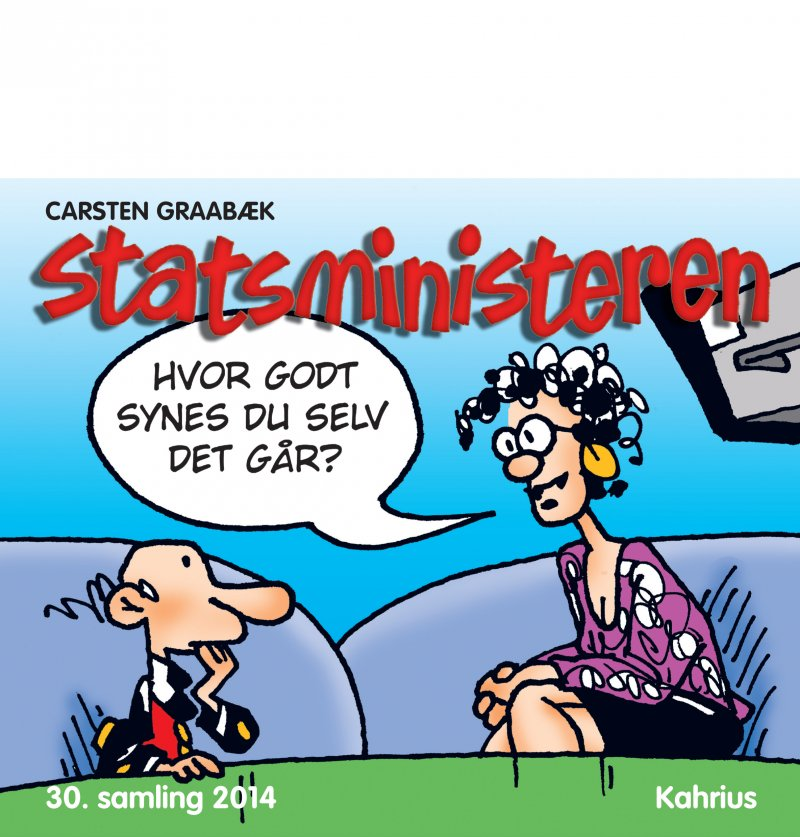 Image of   Statsministeren, 30. Samling 2014 - Carsten Graabæk - Bog