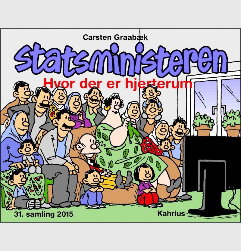 Statsministeren Striber 2015 - Carsten Graabæk - Bog