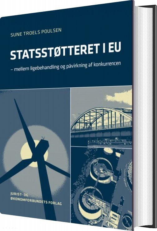 Image of   Statsstøtteret I Eu - Sune Troels Poulsen - Bog