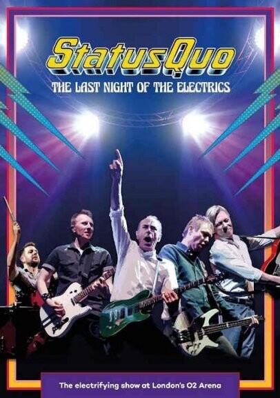 Billede af Status Quo - The Last Night Of The Electrics - DVD - Film