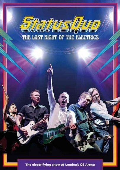 Billede af Status Quo - The Last Night Of The Electrics - Blu-Ray