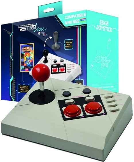 Image of   Steelplay Retro Line Edge Gamepad Til Nes Classic Mini Inkl. Cheat Code Book