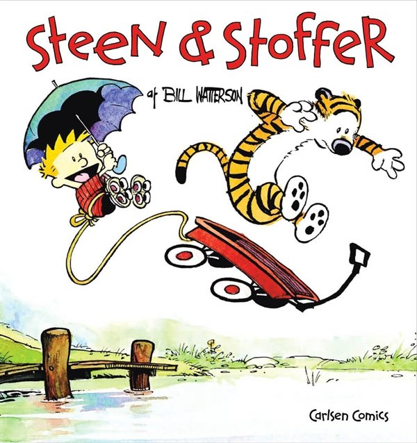 Image of   Steen & Stoffer 1 - Bill Watterson - Tegneserie