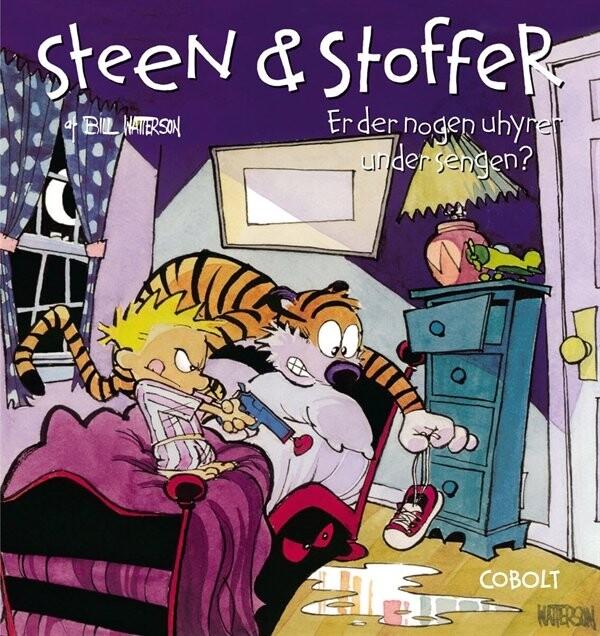 Image of   Steen & Stoffer 2: Er Der Nogen Uhyrer Under Sengen? - Bill Watterson - Tegneserie