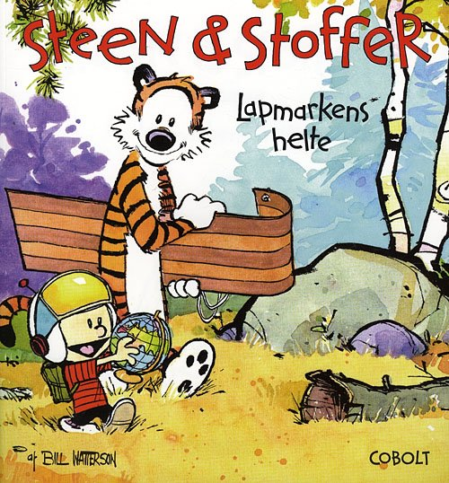 Image of   Steen & Stoffer 3: Lapmarkens Helte - Bill Watterson - Tegneserie