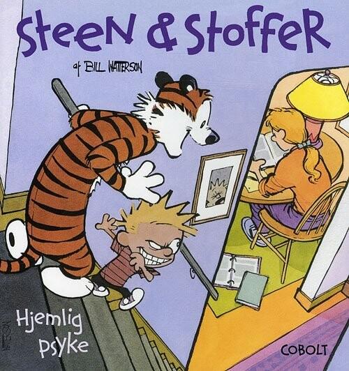 Billede af Steen & Stoffer 5: Hjemlig Psyke - Bill Watterson - Tegneserie