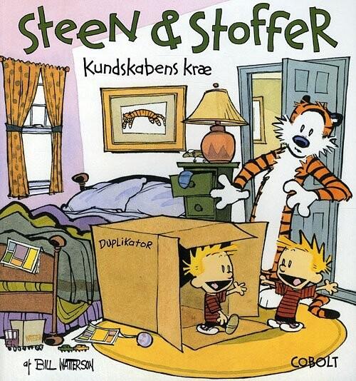 Billede af Steen & Stoffer 6: Kundskabens Kræ - Bill Watterson - Tegneserie