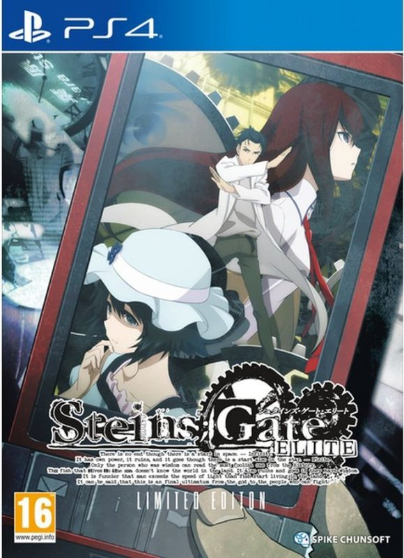 Image of   Steins Gate Elite - Limited Edition - PS4