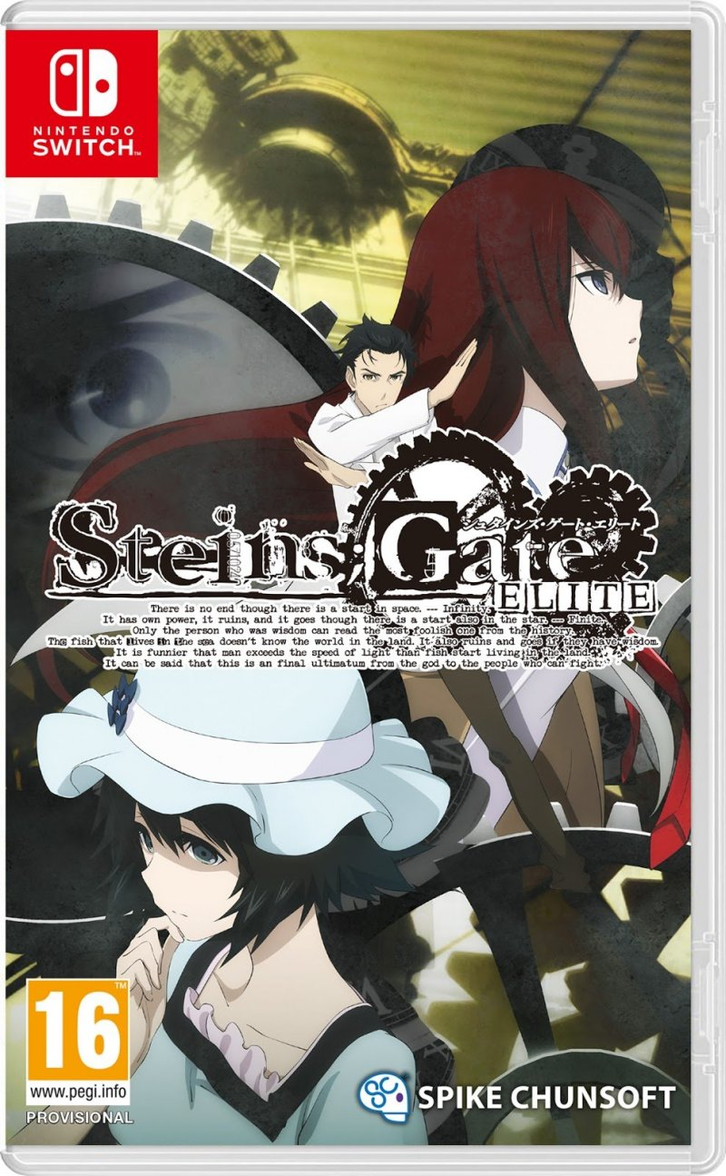 Image of   Steins Gate Elite - Nintendo Switch