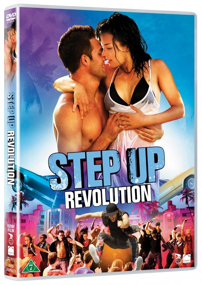 Image of   Step Up 4 - Revolution - DVD - Film