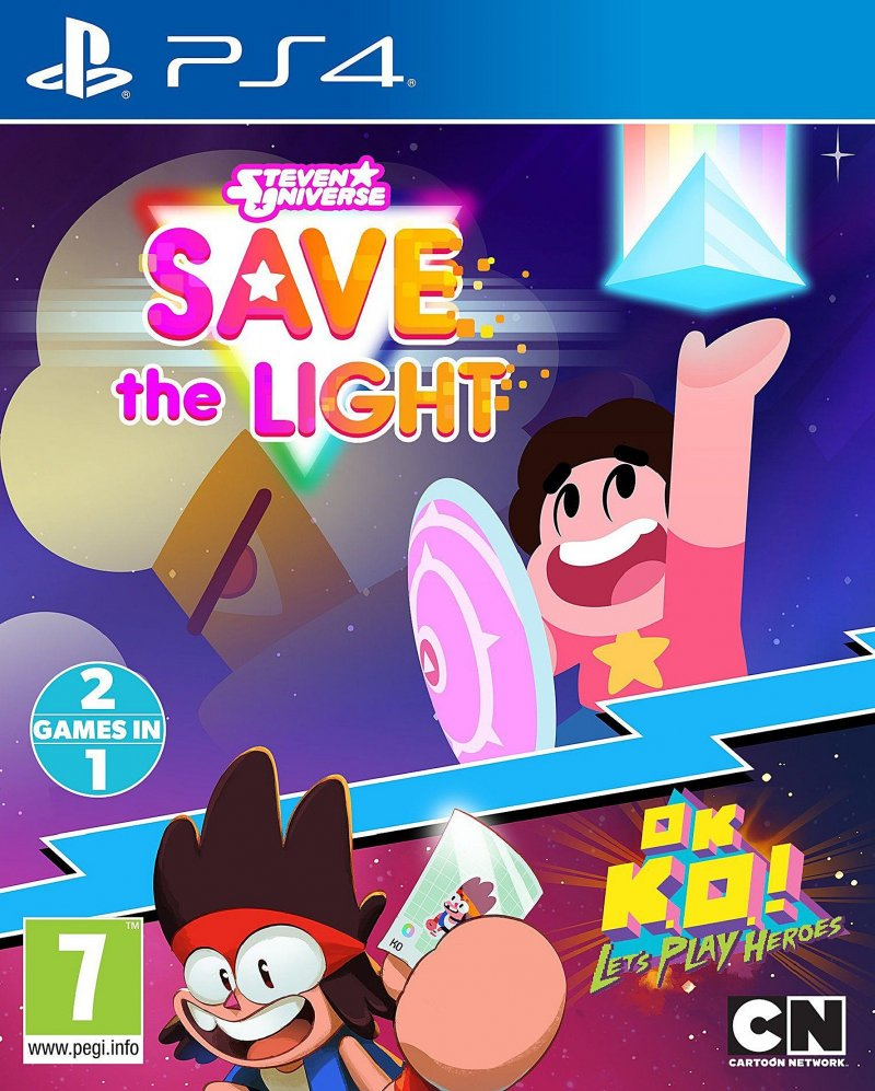 Image of   Steven Universe: Save The Light & Ok K.o.! Lets Play Heroes - PS4