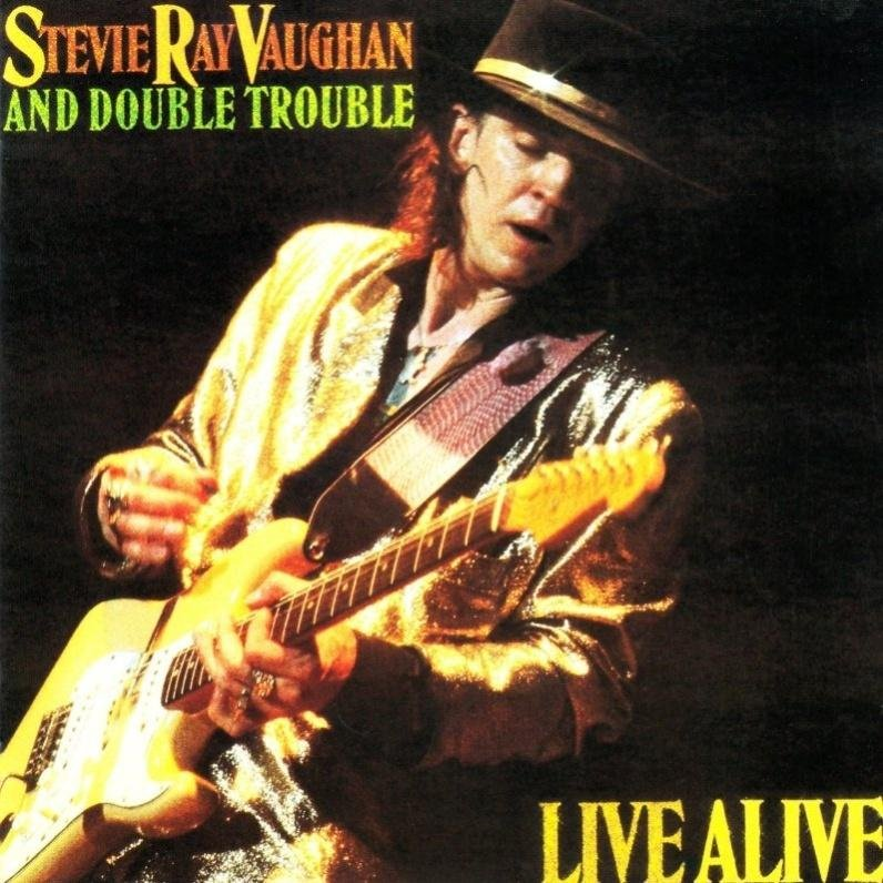 Image of   Stevie Ray Vaughan - Live Alive - CD