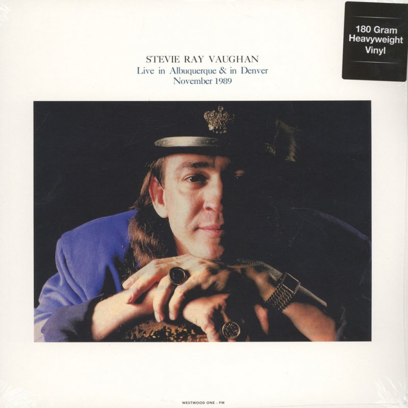 Image of   Stevie Ray Vaughan - Stevie Ray Vaughan Live In Albuquerque & In Denver, November 28 & 29, 1989 - Vinyl / LP