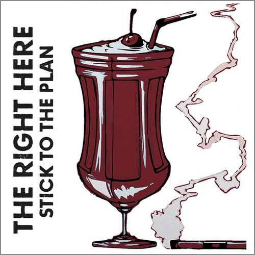Billede af Right Here - Stick With The Plan - CD