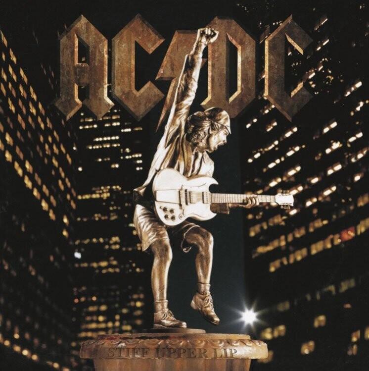 Image of   Ac Dc - Stiff Upper Lip - Vinyl / LP