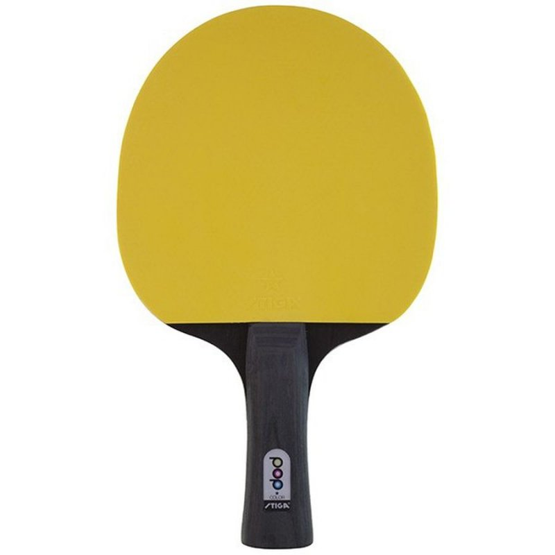 Stiga Bordtennisbat Pop Colour - Gul