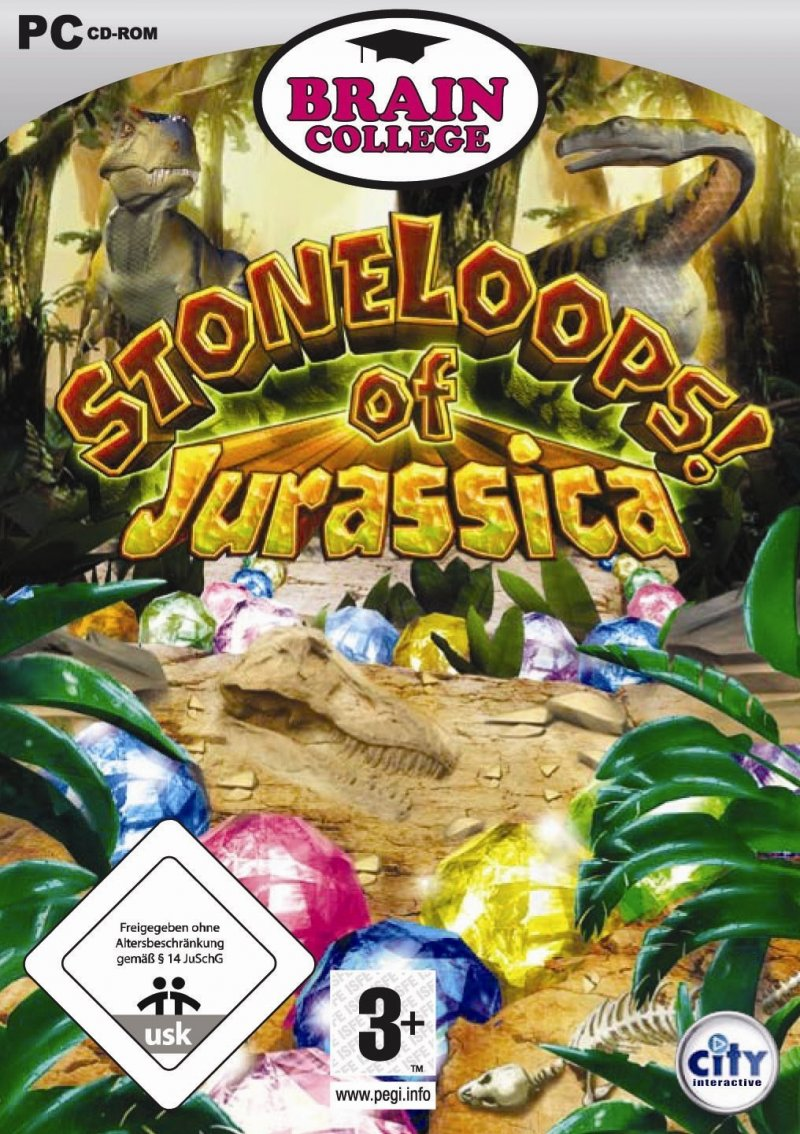 Image of   Stoneloops! Of Jurassica - Dk - PC