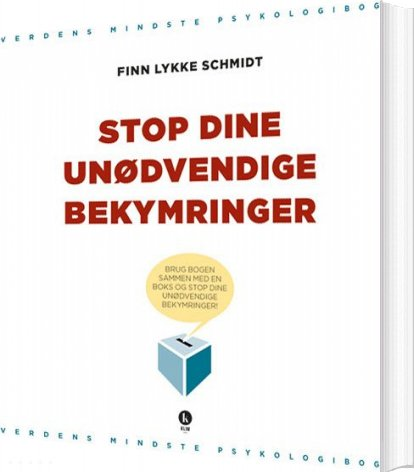 Image of   Stop Dine Unødvendige Bekymringer - Schmidt - Bog