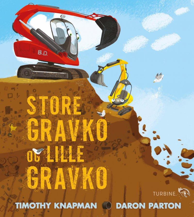 Image of   Store Gravko Og Lille Gravko - Timothy Knapman - Bog