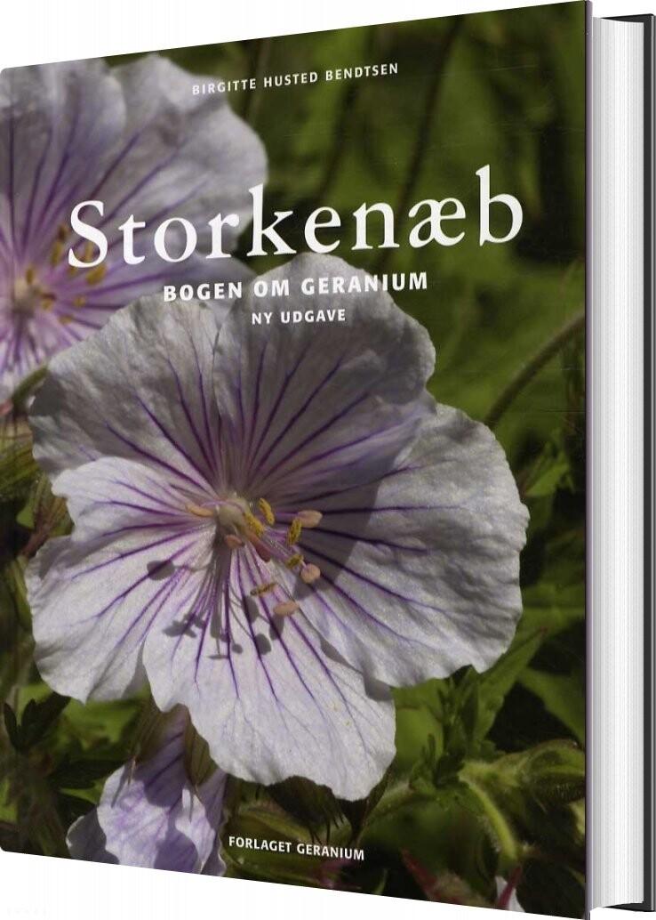 Storkenæb - Birgitte Husted Bendtsen - Bog