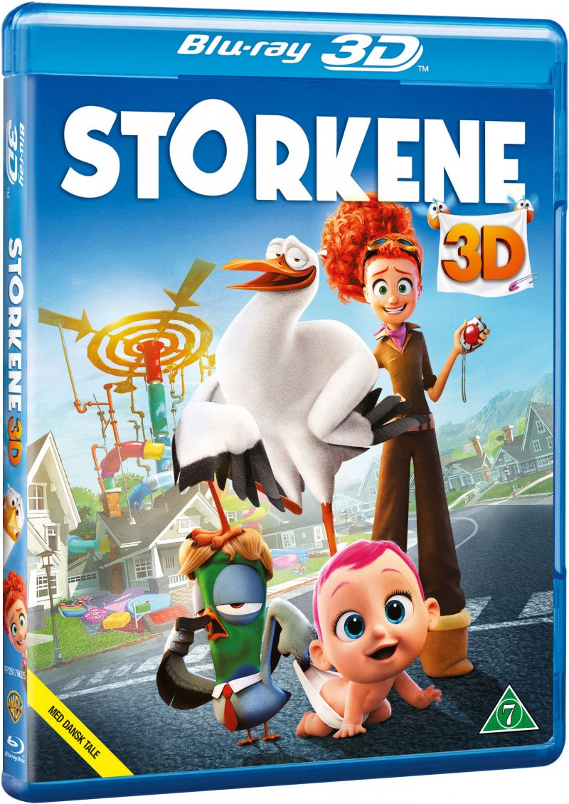 Image of   Storkene - Film 2016 - 3D Blu-Ray
