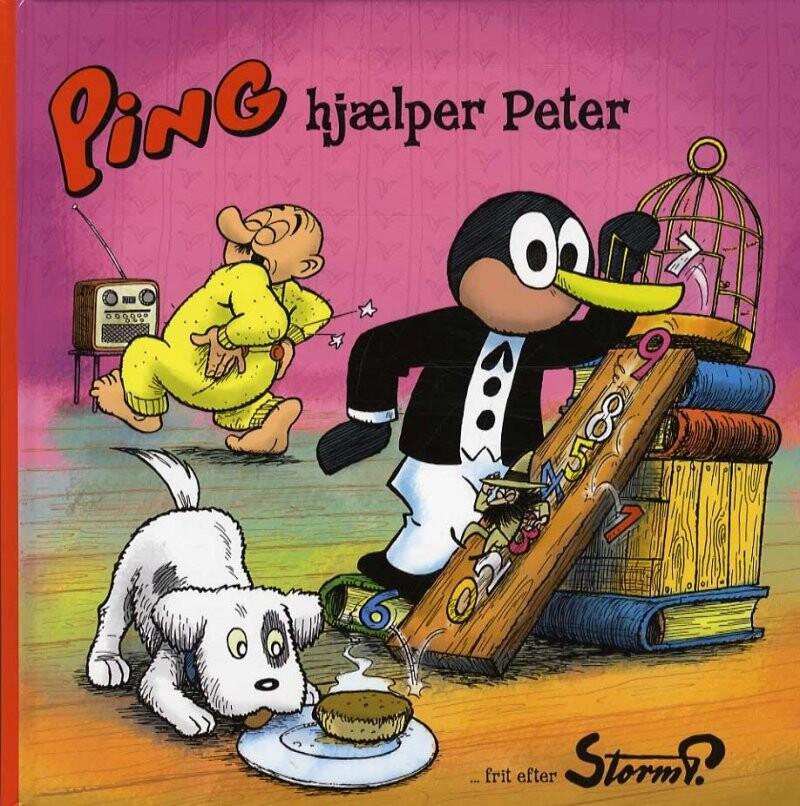 Image of   Storm P. - Ping Hjælper Peter - Storm P - Bog
