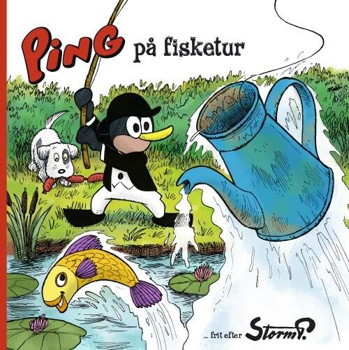 Image of   Storm P. - Ping På Fisketur - Storm P - Bog