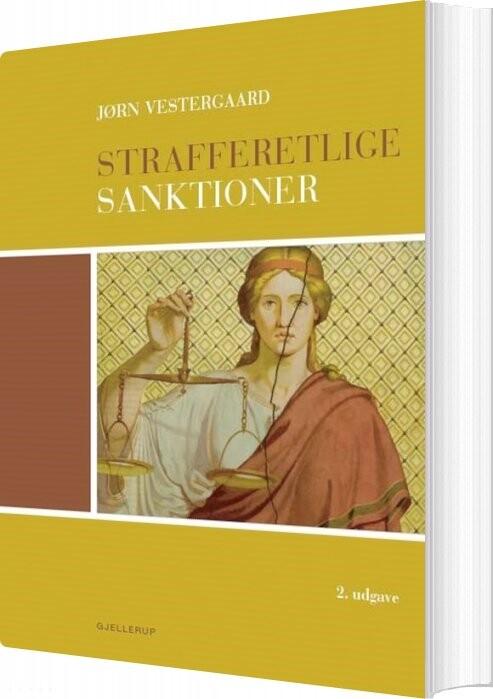 Image of   Strafferetlige Sanktioner - Jørn Vestergaard - Bog
