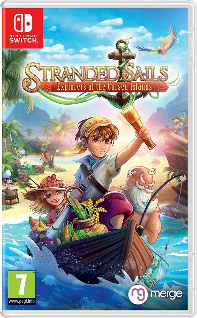 Image of   Stranded Sails - Nintendo Switch