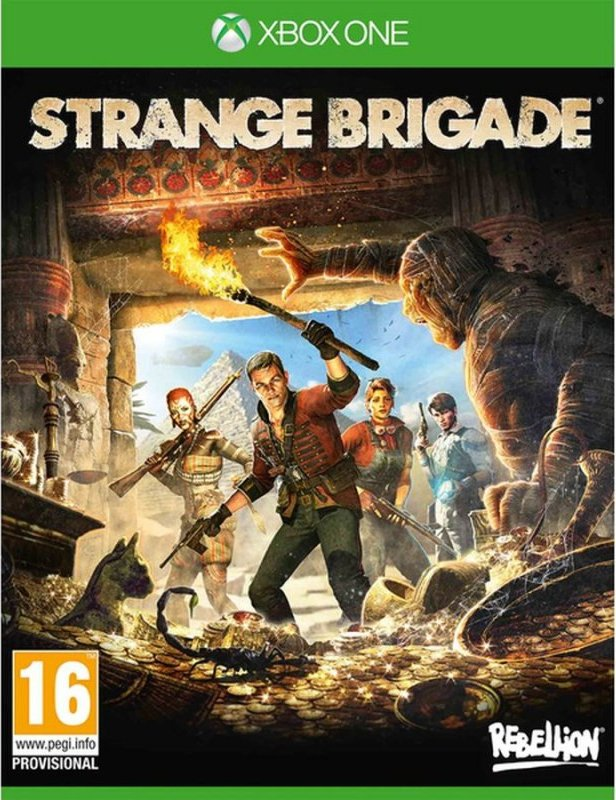 Image of   Strange Brigade - Xbox One