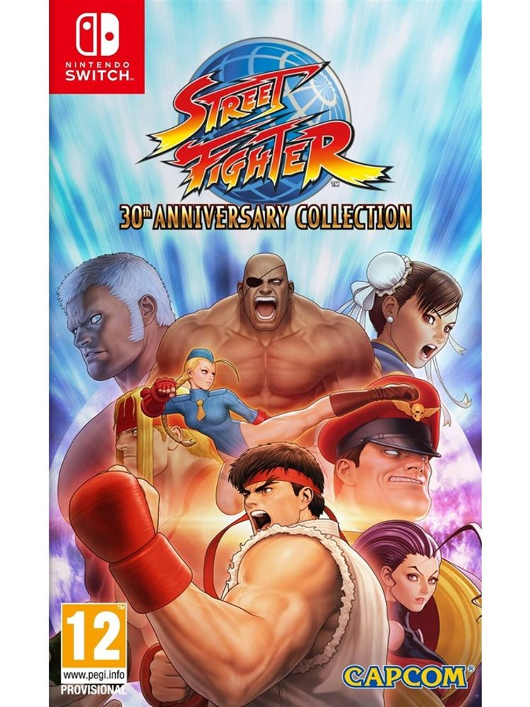 Street Fighter: 30th Anniversary Collection - Nintendo Switch