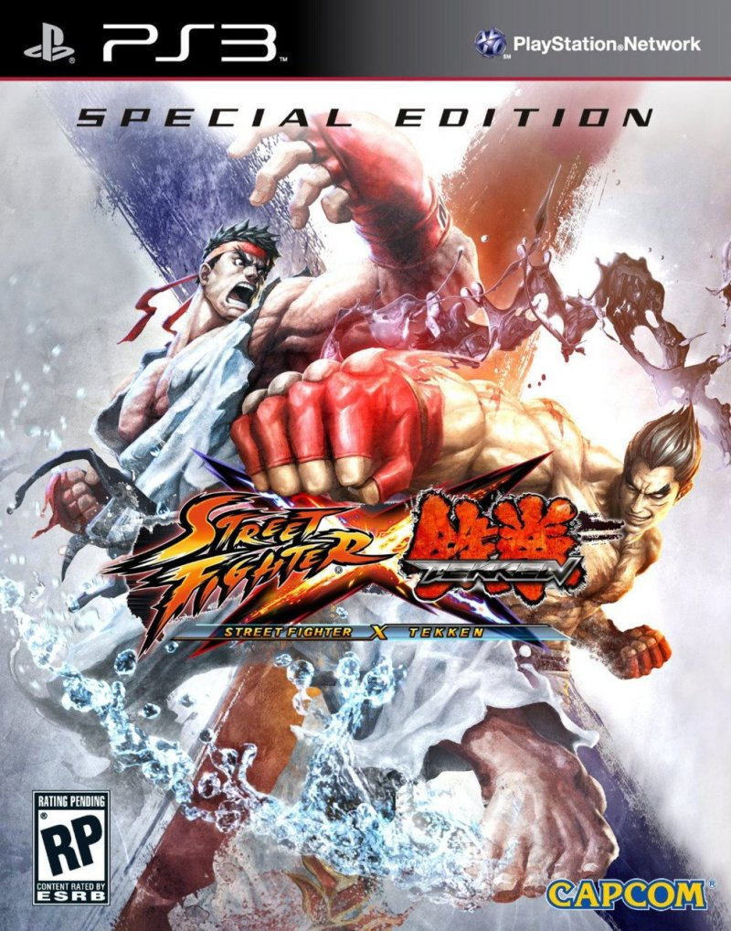Street Fighter X Tekken Special Edition (import) - PS3