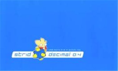 Image of   Strid - Decimal 0.4 - Jakob Martin Strid - Tegneserie