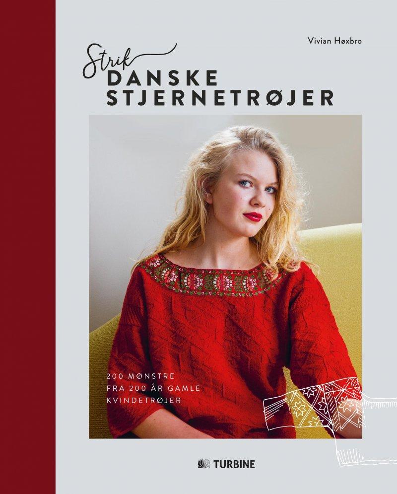 Image of   Strik Danske Stjernetrøjer - Vivian Høxbro - Bog