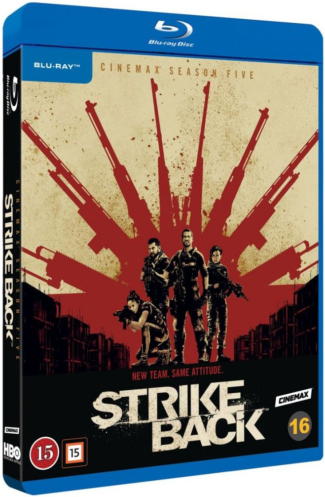 Image of   Strike Back - Sæson 5 - Hbo - Blu-Ray - Tv-serie