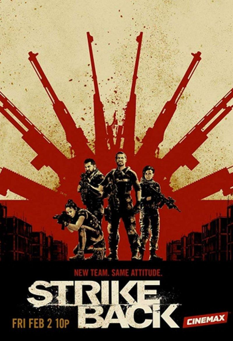 Billede af Strike Back - Sæson 6 - DVD - Tv-serie