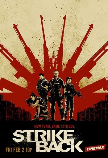 Image of   Strike Back - Sæson 6 - Blu-Ray - Tv-serie