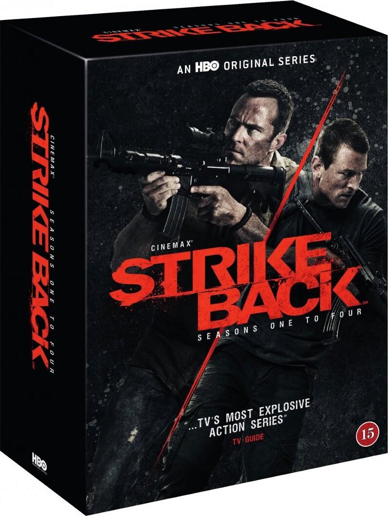 Billede af Strike Back - Sæson 1-4 - Hbo - DVD - Tv-serie