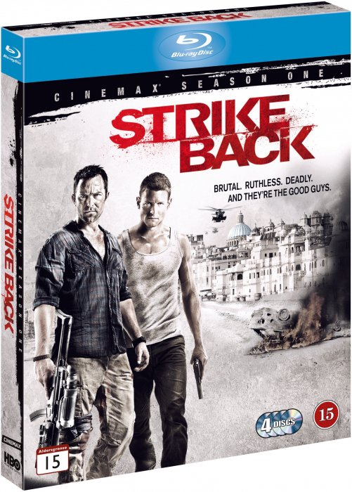Strike Back - Sæson 1 - Hbo - Blu-Ray - Tv-serie