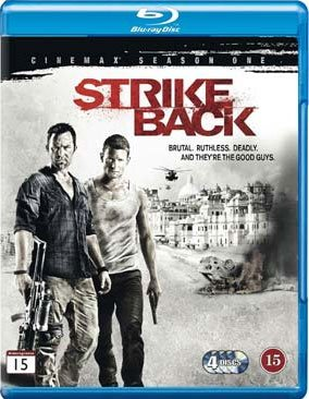 Strike Back - Sæson 2 - Hbo - Blu-Ray - Tv-serie