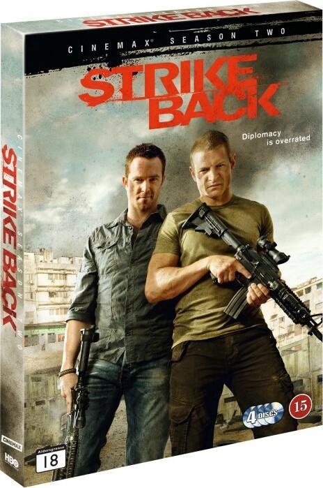 Billede af Strike Back - Sæson 2 - Hbo - DVD - Tv-serie