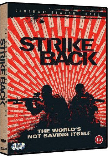 Billede af Strike Back - Sæson 3 - Hbo - DVD - Tv-serie