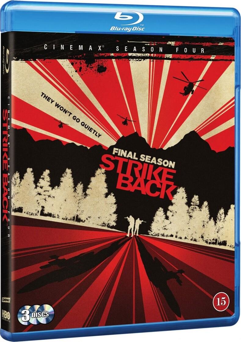 Strike Back - Sæson 4 - Hbo - Blu-Ray - Tv-serie