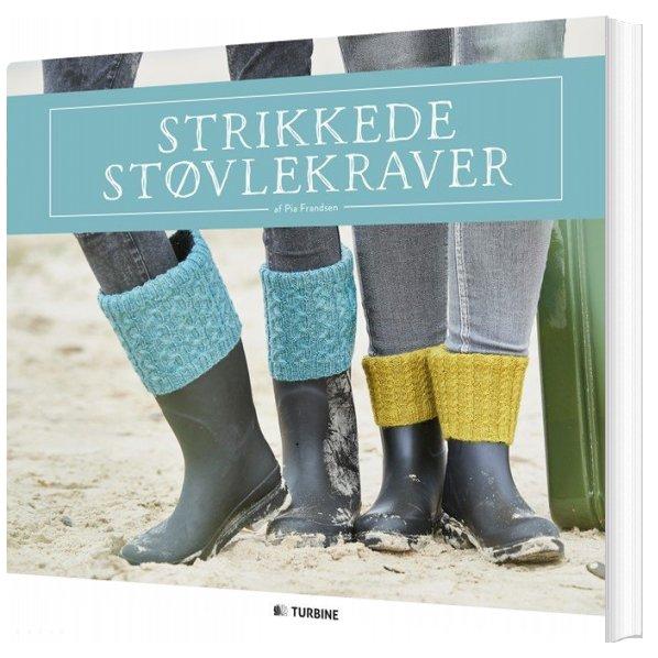 Image of   Strikkede Støvlekraver - Pia Frandsen - Bog