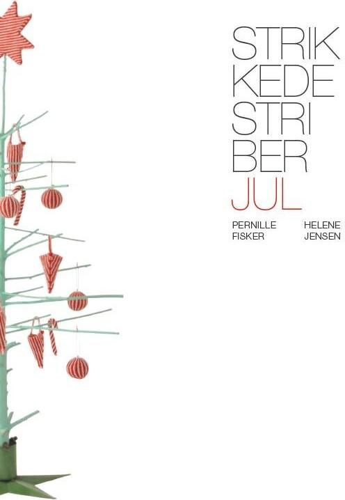 Image of   Strikkede Striber, Jul - Helene Jensen - Bog